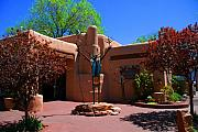 Santa Fe Magic - One of the many Art Galleries in Santa Fe by Susanne Van Hulst