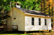 One Room Schoolhouse Prints - One Room Schoohhouse Print by Thomas R Fletcher