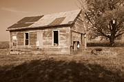Abandoned School House Framed Prints - One Room School House Framed Print by Rick Rauzi