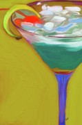 Drink Paintings - One to Many by Patti Siehien