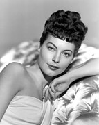 Ava Framed Prints - One Touch Of Venus, Ava Gardner, 1948 Framed Print by Everett