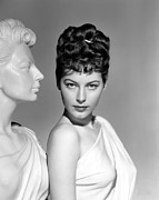 Ava Framed Prints - One Touch Of Venus, Ava Gardner Framed Print by Everett