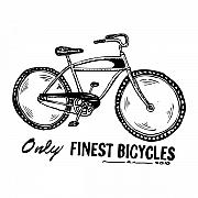 Wheels Drawings Posters - Only Finest Bicycles Poster by Karl Addison