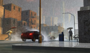 Cityscape Digital Art - Only When It Rains by Dieter Carlton