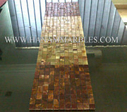 Pak Marmi Glass Art - Onyx Mosaic by Hanam Marble Industries