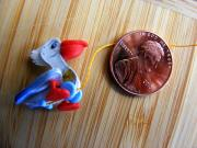 Toy Sculptures - OOAK mini Pelican by Elaine Langille
