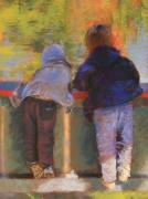 Figures Pastels - Oooo Whats That by Barbara Jaenicke