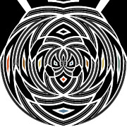 Opus Digital Art Posters - Op-art Poster by Ann Croon