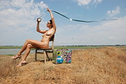 Nude Girl Dog Photos - Open Air Cinema by Svetlana  Sokolova