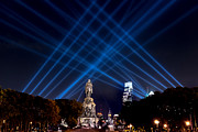 Benjamin Franklin Parkway Prints - Open Air Project Print by Louis Dallara