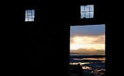 Exits Prints - Open Door Sunset - A Great Salt Lake Sunset Print by Steven Milner