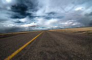 Scenic Drive Metal Prints - Open highway Metal Print by Arjuna Kodisinghe