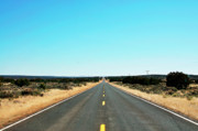 Open Land Prints - Open Highway Print by Thomas R Fletcher