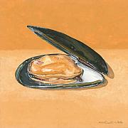 Sea Shell Originals - Open Mussel by Dominic White