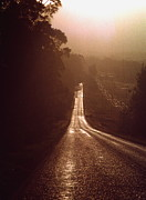 Graphic Photos - Open Road by David Halperin