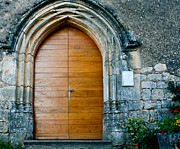 Pretty Flowers Photos - Open the church door by Georgia Fowler