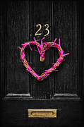 Hang Wall Posters - Open The Door To Your Heart Poster by Evelina Kremsdorf