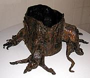 Organic Ceramics Originals - Open trunk by Janet Wyndham-Quin