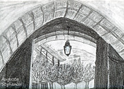 Arch Drawings - Opening door to light by Augusta Stylianou