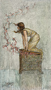 Pandora Prints - Opening Of Pandoras Box Print by Granger