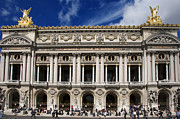 Roofs Metal Prints - Opera Garnier. Paris. France Metal Print by Bernard Jaubert
