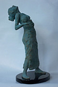 Sculptor Sculpture Originals - Opera Singer by Belgin Yucelen
