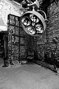Operating Framed Prints - Operating Room - Eastern State Penitentiary - black and white Framed Print by Paul Ward