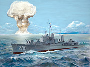 Navy Paintings - Operation Castle by Bob Wilson
