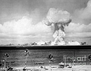 Able Posters - Operation Crossroads, Able Detonation Poster by Science Source