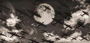 War Images Metal Prints - Operation Moonlight Metal Print by Richard Rizzo