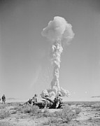 Attack Dog Photos - Operation Tumbler-snapper Atom Bomb, 1952 by Us National Archives And Records Administration