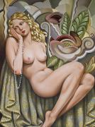 Flesh Framed Prints - Opium Dreamer Framed Print by Catherine Abel