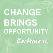 Motivation Posters - Opportunity Poster by Linda Woods