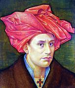 Ops1986001 Self Portrait 14.75x17.75 Print by Alfredo Da Silva
