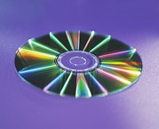 Disc Posters - Optical Disc Poster by Lawrence Lawry