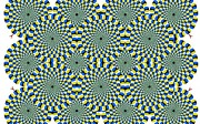 Spinning Prints - Optical illusion Spinning circles Print by Sumit Mehndiratta