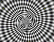 Optical Illusion Digital Art Posters - Optical illusion time machine Poster by Sumit Mehndiratta