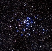 Cluster Prints - Optical Image Of The Open Star Cluster Ngc 6124 Print by Celestial Image Co.