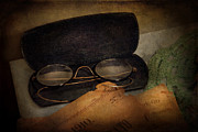Meds Prints - Optometrist - Glasses for Reading  Print by Mike Savad