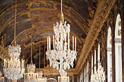 Palace Of Versailles Prints - Opulence Print by Melanie Alexandra Price