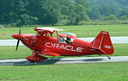 Oracle Paintings - Oracle Plane at Airshow by Adele Pfenninger