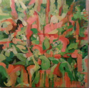 Colette Wirz - Orange and green in...