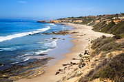 Laguna Beach Posters - Orange County California Poster by Paul Velgos