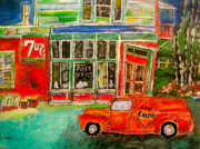Depanneur Art - Orange Crush Delivery by Michael Litvack