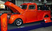 Stret Photos - Orange Crush Truck by Matthew Smith