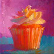 Gourmet Art Paintings - Orange Dream by Penelope Moore
