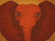 Victoria Golden - Orange Elephant