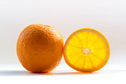 Orange. Prints - Orange Fruit Composition Print by by Felix Schmidt