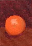 Karenpappert Framed Prints - Orange Fruit  Framed Print by Karen Pappert