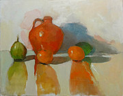 Nancy Blum - Orange Jar